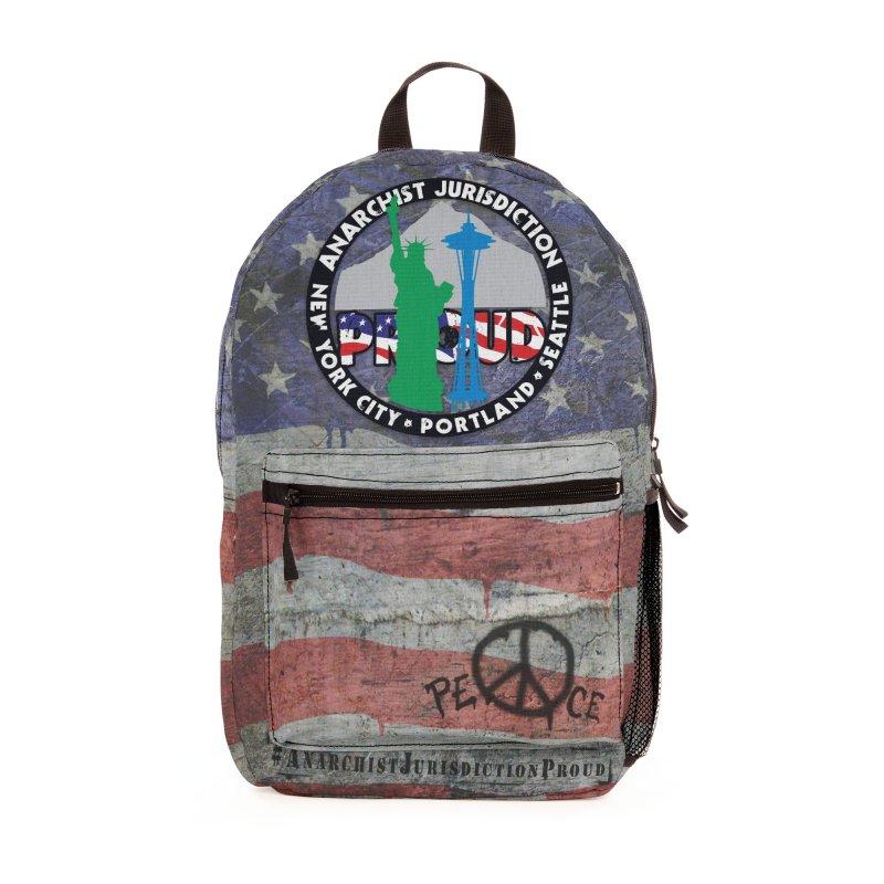 Anarchist Jurisdiction Proud Accessories Bag by Peregrinus Creative