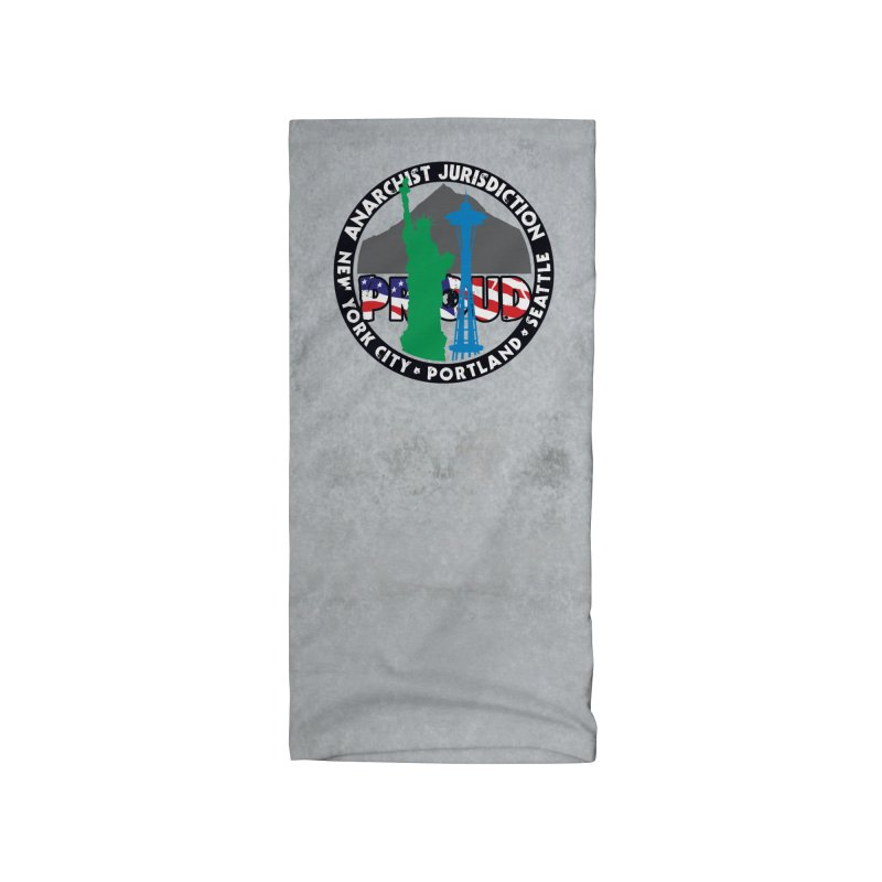 Anarchist Jurisdiction Proud Accessories Neck Gaiter by Peregrinus Creative