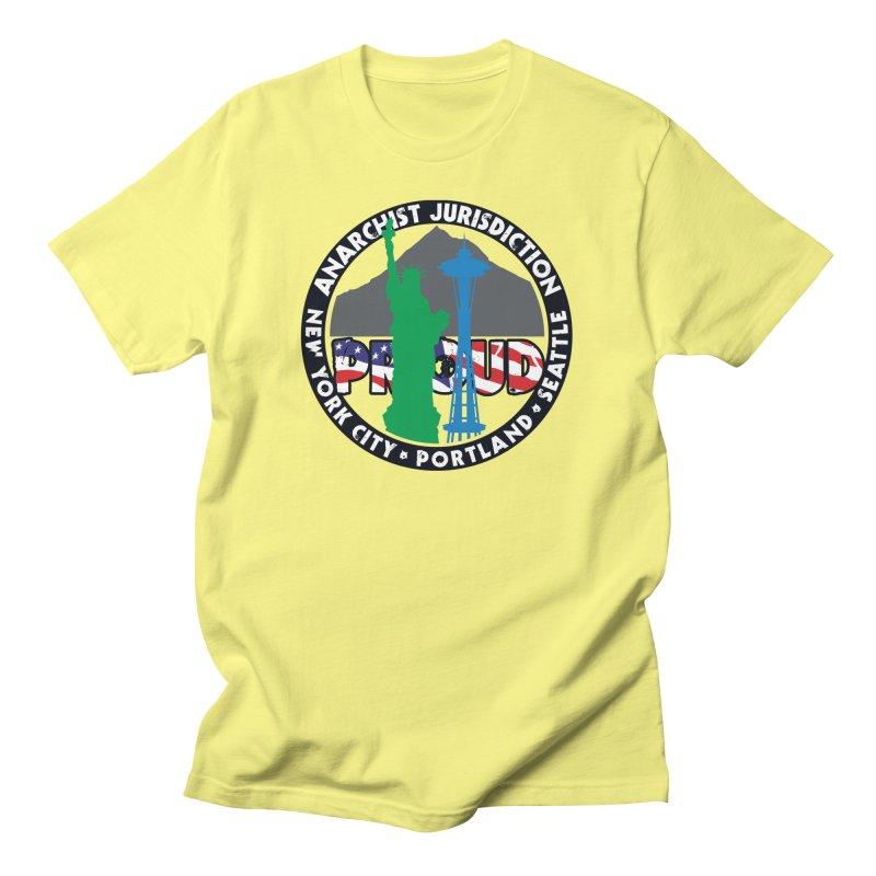 Anarchist Jurisdiction Proud Men's T-Shirt by Peregrinus Creative