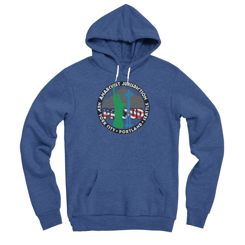 Anarchist Jurisdiction Proud Women's Pullover Hoody by Peregrinus Creative