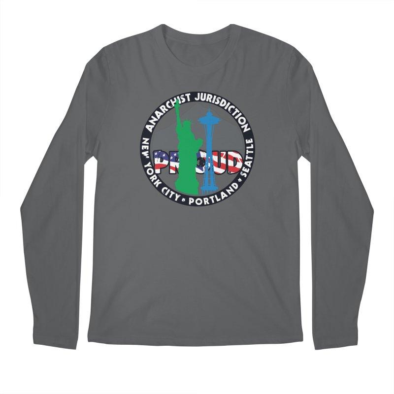 Anarchist Jurisdiction Proud Men's Longsleeve T-Shirt by Peregrinus Creative
