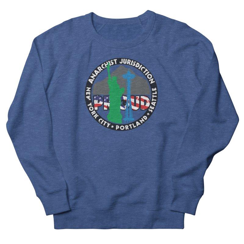 Anarchist Jurisdiction Proud Men's Sweatshirt by Peregrinus Creative