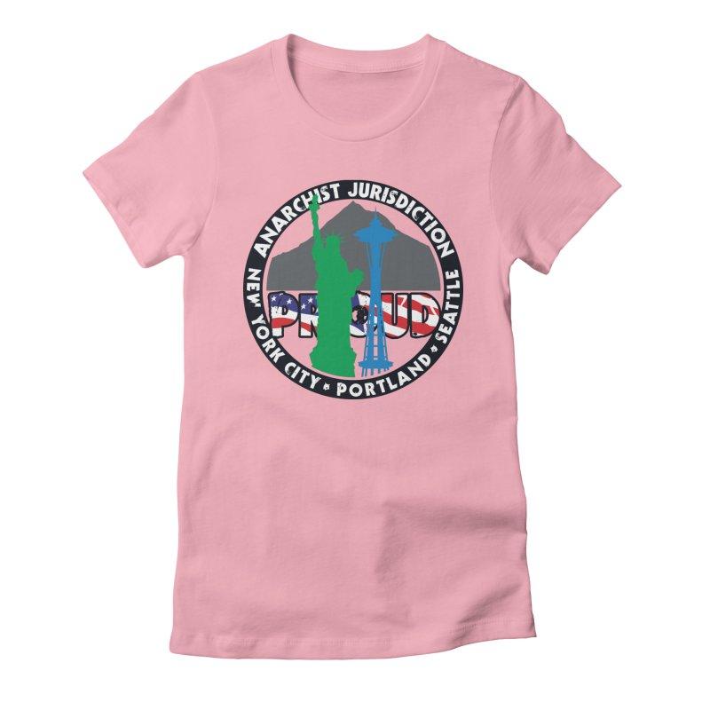 Anarchist Jurisdiction Proud Women's T-Shirt by Peregrinus Creative