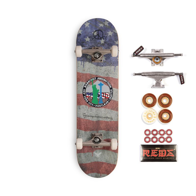 Anarchist Jurisdiction Proud Accessories Skateboard by Peregrinus Creative
