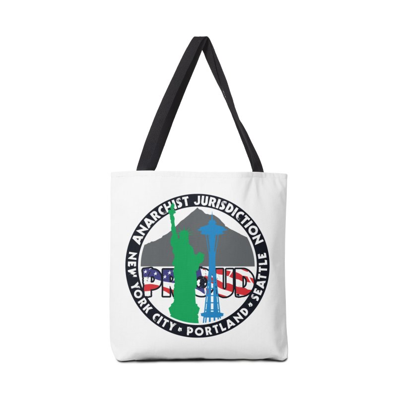Anarchist Jurisdiction Proud :: Threadless 20th Anniversary submission Accessories Bag by Peregrinus Creative