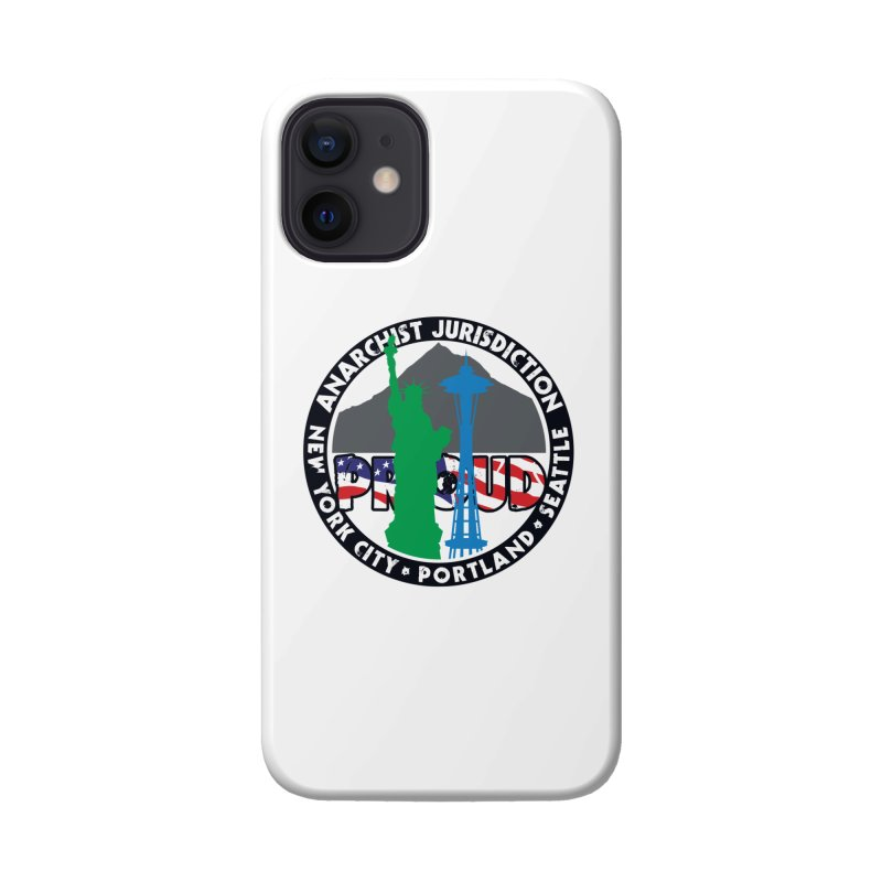 Anarchist Jurisdiction Proud :: Threadless 20th Anniversary submission Accessories Phone Case by Peregrinus Creative