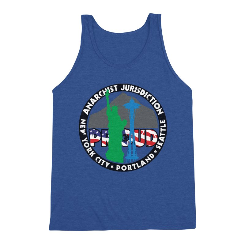 Anarchist Jurisdiction Proud :: Threadless 20th Anniversary submission Men's Tank by Peregrinus Creative