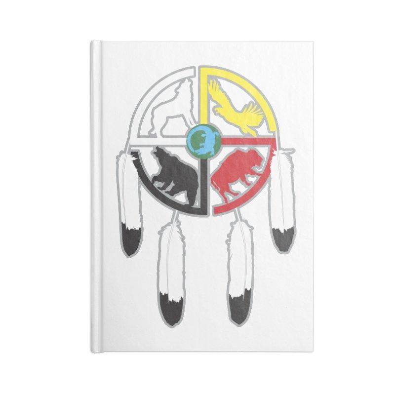 Medicine Wheel Accessories Notebook by Peregrinus Creative