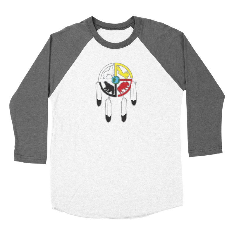 Medicine Wheel Women's Longsleeve T-Shirt by Peregrinus Creative