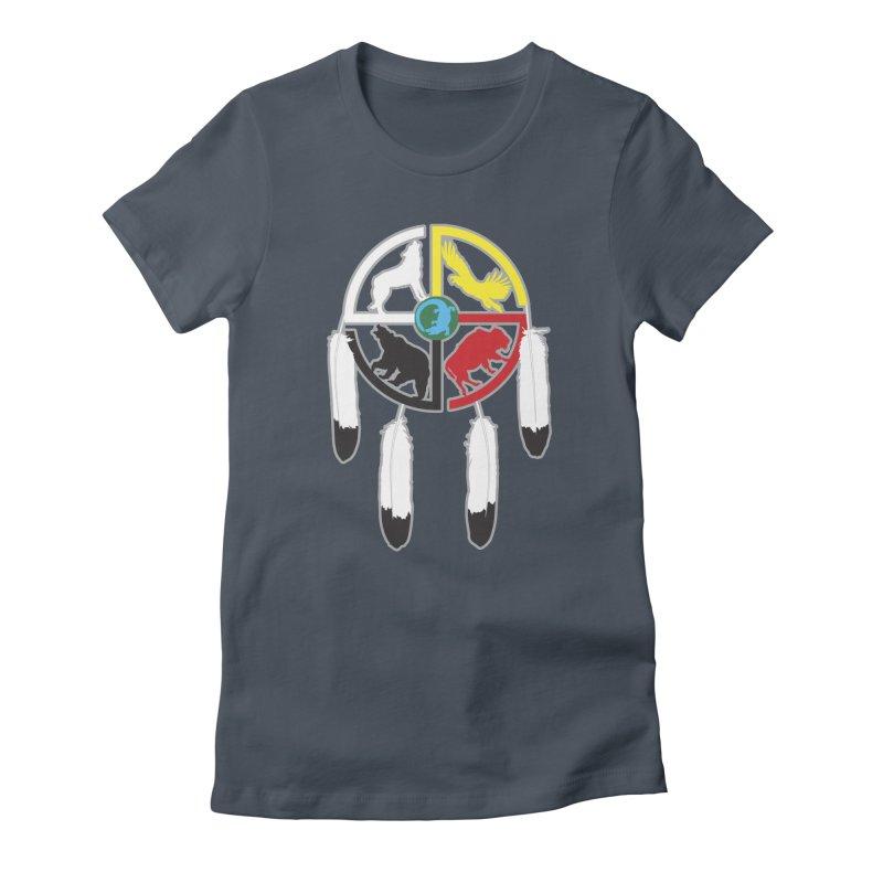 Medicine Wheel Women's T-Shirt by Peregrinus Creative