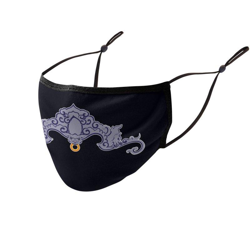 Bat symbolism Accessories Face Mask by Peregrinus Creative