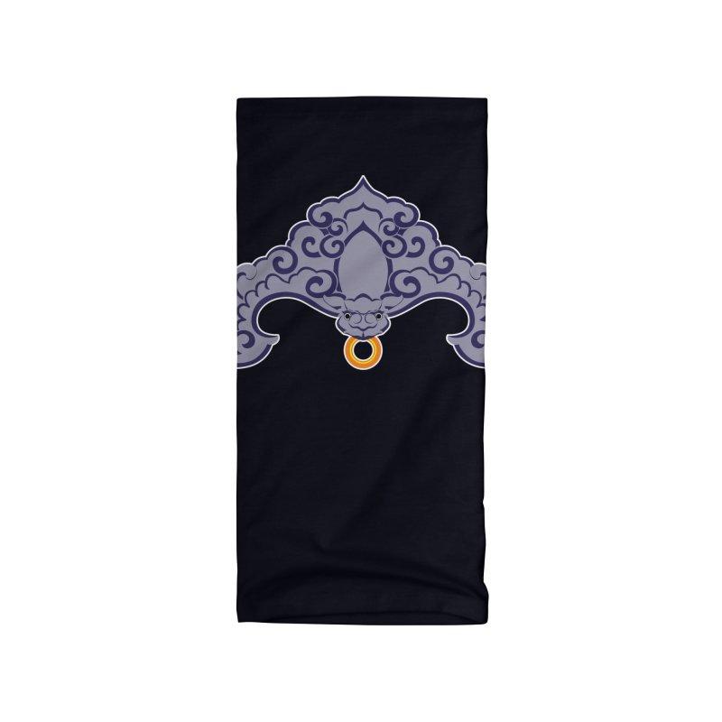 Bat symbolism Accessories Neck Gaiter by Peregrinus Creative