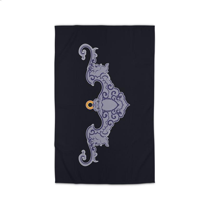 Bat symbolism Home Rug by Peregrinus Creative