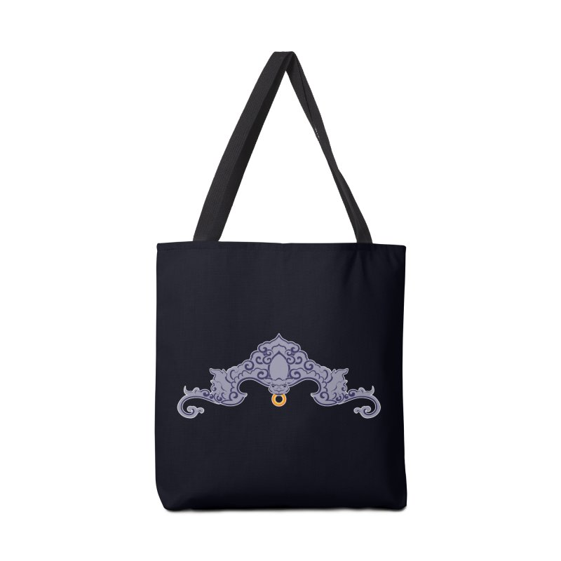 Bat symbolism Accessories Bag by Peregrinus Creative