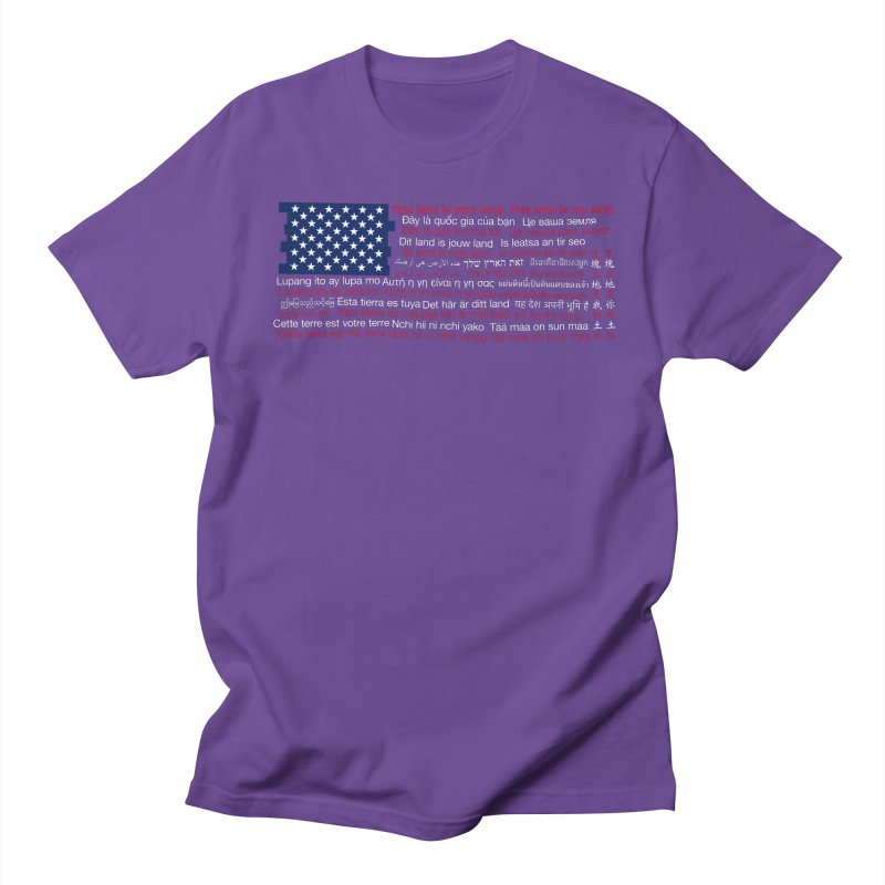 This land is your land. This land is my land. Women's T-Shirt by Peregrinus Creative