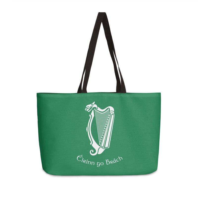 Éirinn go Brách (Ireland to the End of Time) Accessories Bag by Peregrinus Creative