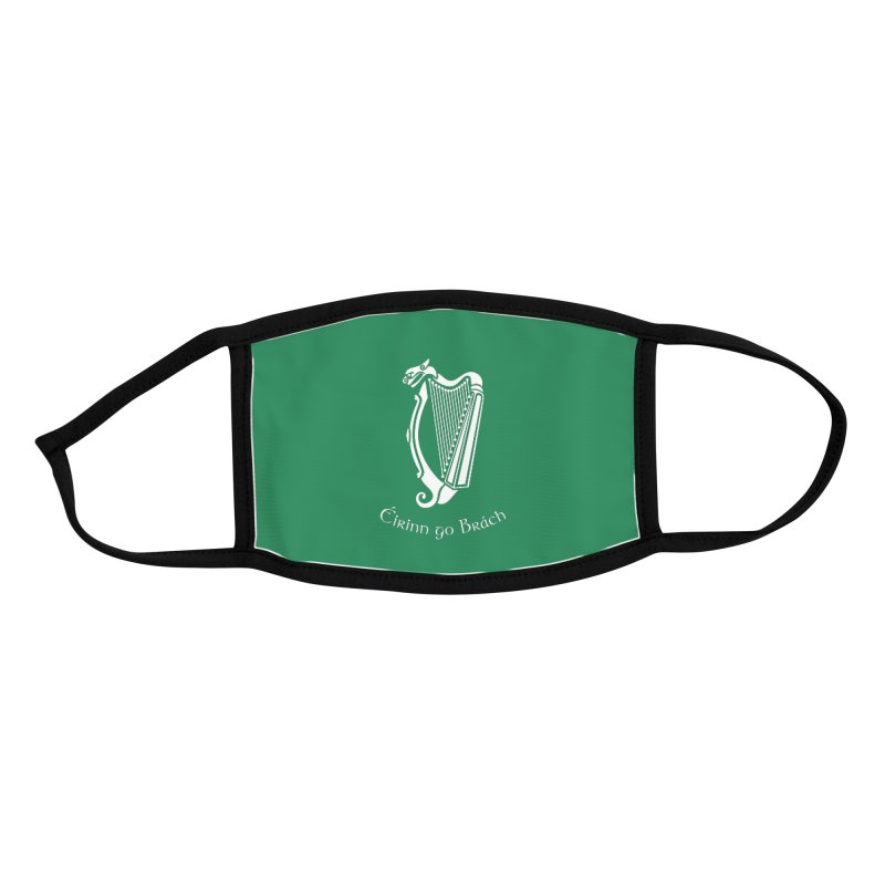 Éirinn go Brách (Ireland to the End of Time) Accessories Face Mask by Peregrinus Creative