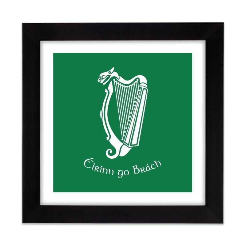 Éirinn go Brách (Ireland to the End of Time) Home Framed Fine Art Print by Peregrinus Creative