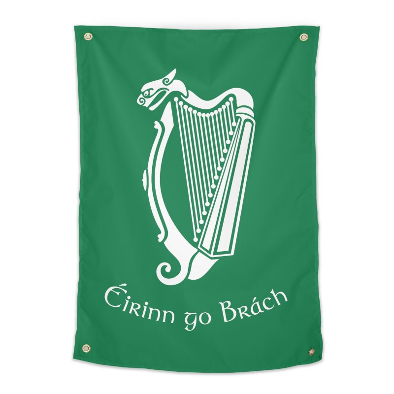 Éirinn go Brách (Ireland to the End of Time) Home Tapestry by Peregrinus Creative