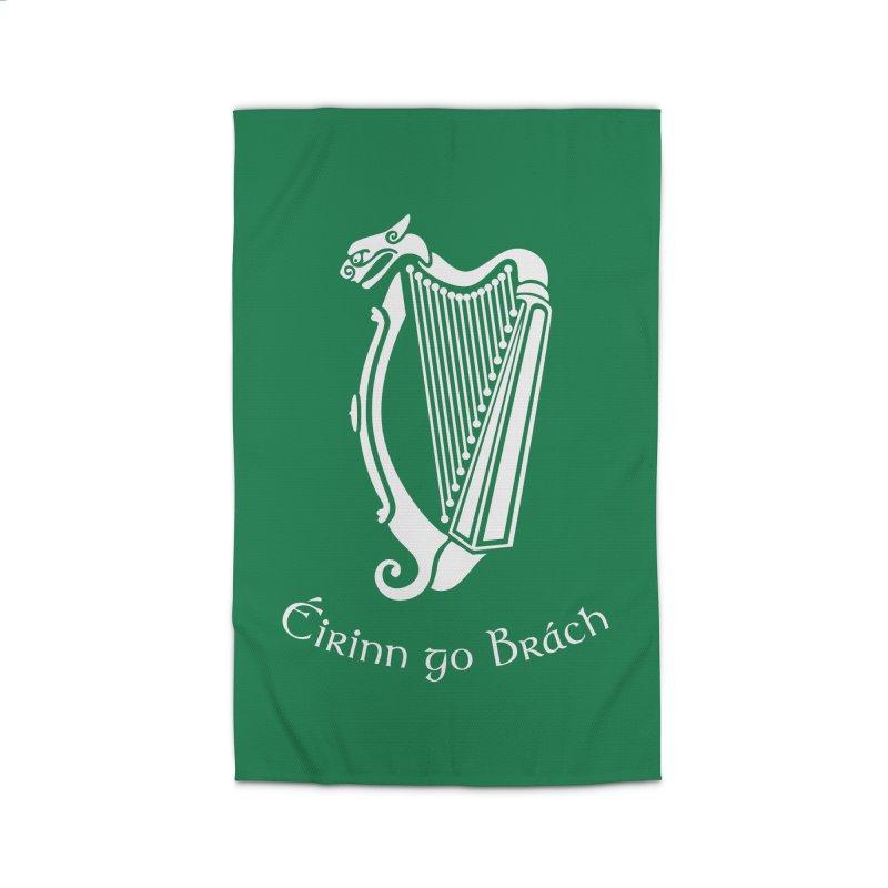 Éirinn go Brách (Ireland to the End of Time) Home Rug by Peregrinus Creative