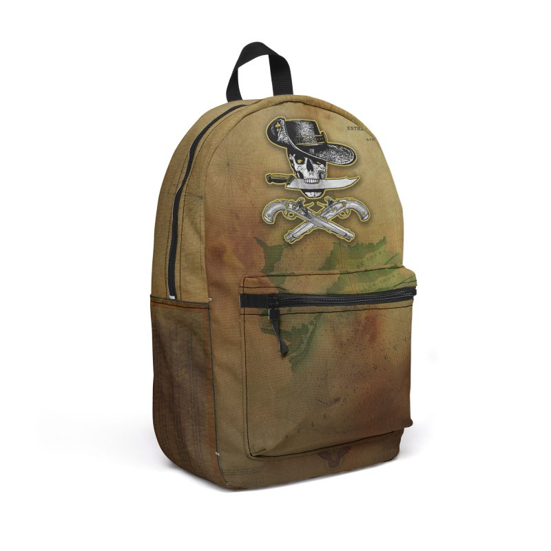 Ghost of Barataria Accessories Backpack Bag by Peregrinus Creative