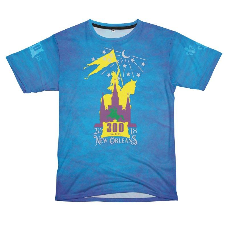New Orleans Tricentennial 300TH Anniversary Men's T-Shirt Cut & Sew by Peregrinus Creative