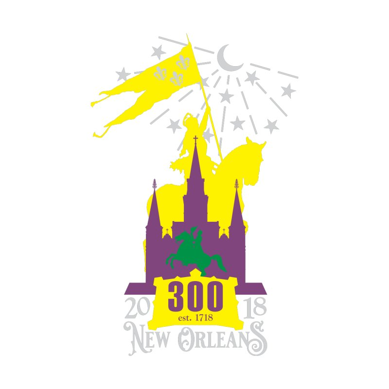 New Orleans Tricentennial 300TH Anniversary by Peregrinus Creative