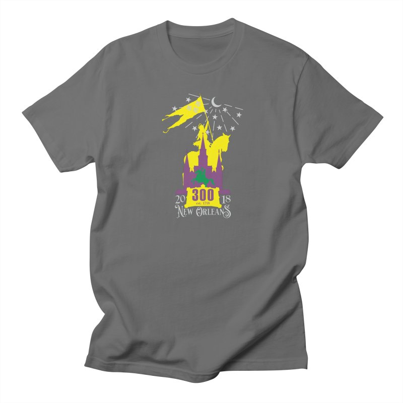 New Orleans Tricentennial 300TH Anniversary Men's T-Shirt by Peregrinus Creative