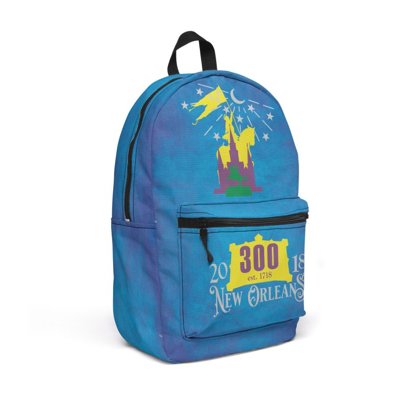 New Orleans Tricentennial 300TH Anniversary - ART & ACCESSORIES Accessories Backpack Bag by Peregrinus Creative