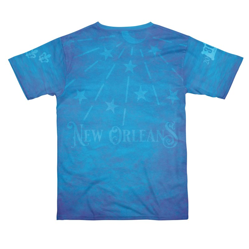 New Orleans Tricentennial 300TH Anniversary - ART & ACCESSORIES Men's Cut & Sew by Peregrinus Creative