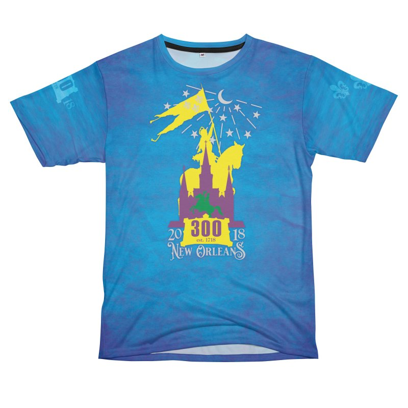 New Orleans Tricentennial 300TH Anniversary - ART & ACCESSORIES Women's Unisex T-Shirt Cut & Sew by Peregrinus Creative