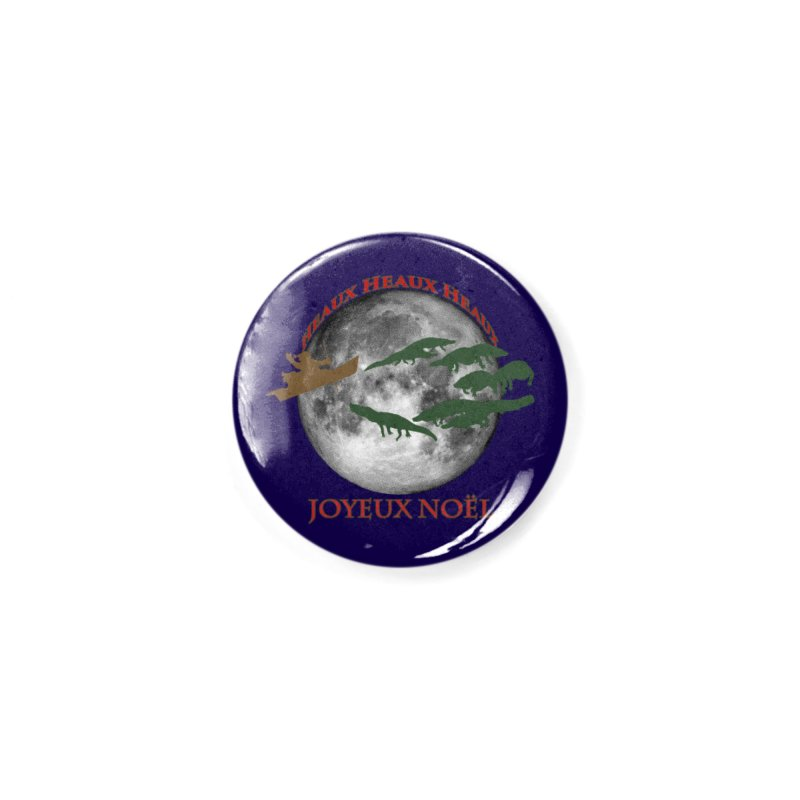 Cajun Christmas Accessories Button by Peregrinus Creative