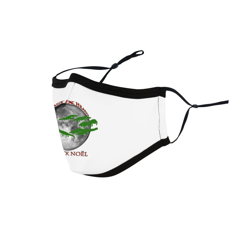 Cajun Christmas Accessories Face Mask by Peregrinus Creative
