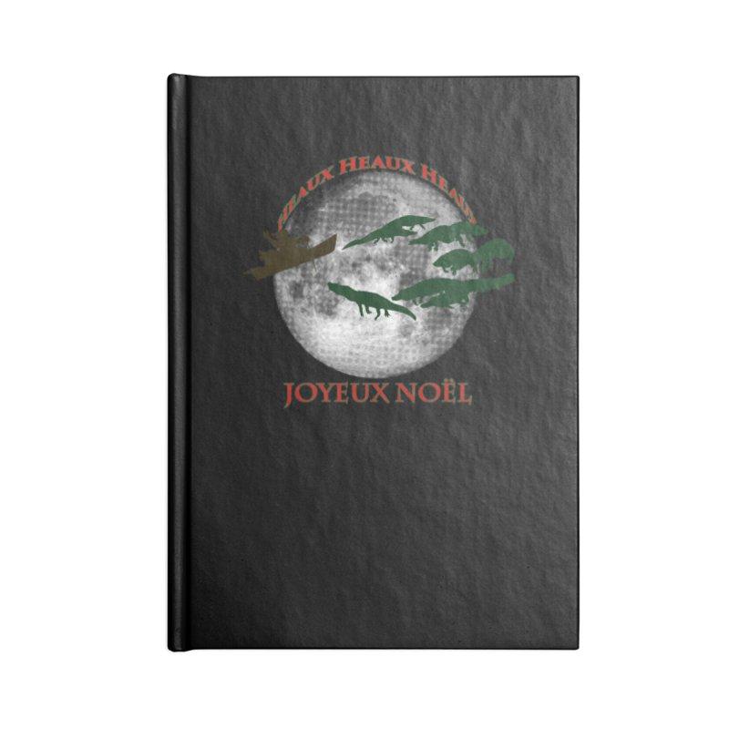 Cajun Christmas Accessories Blank Journal Notebook by Peregrinus Creative