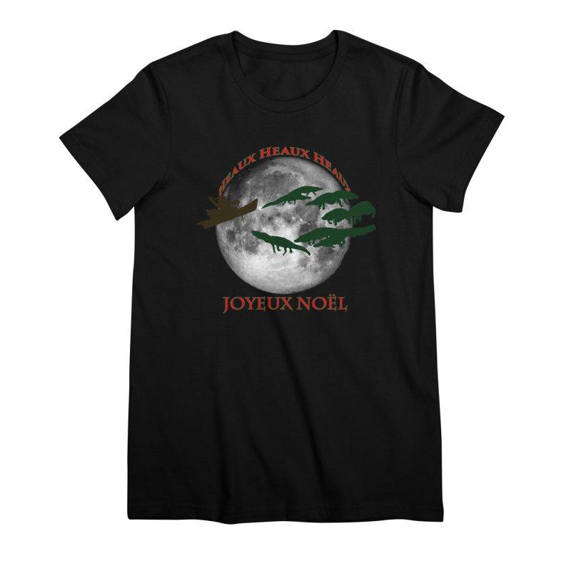 Cajun Christmas Women's Premium T-Shirt by Peregrinus Creative