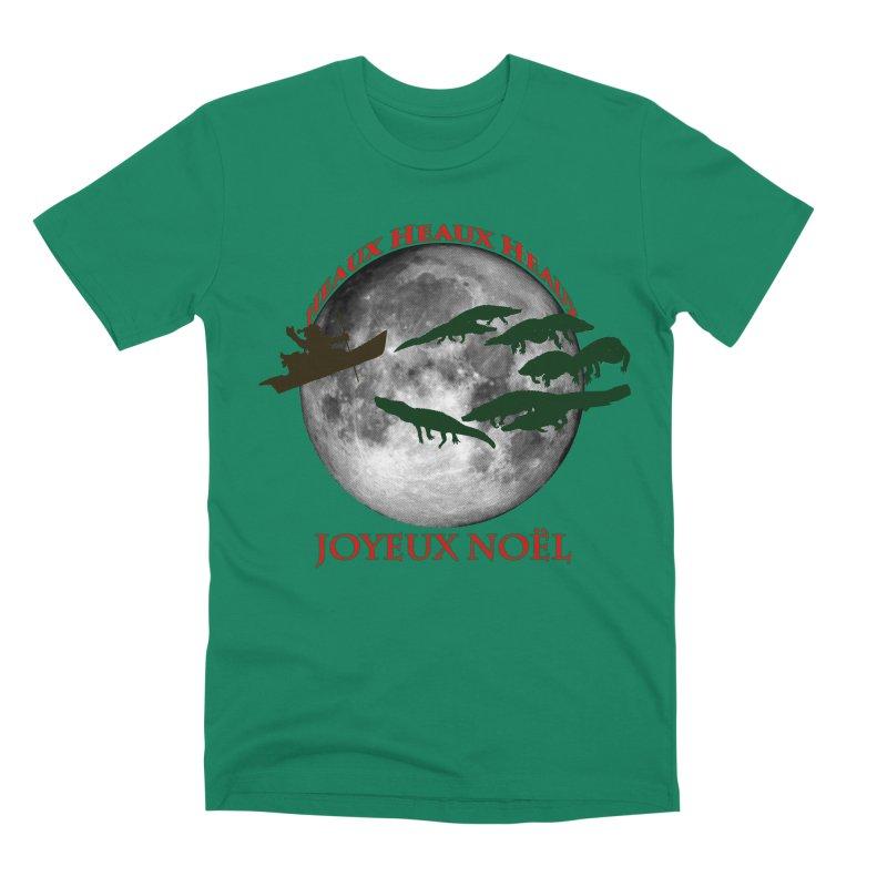 Cajun Christmas Men's Premium T-Shirt by Peregrinus Creative