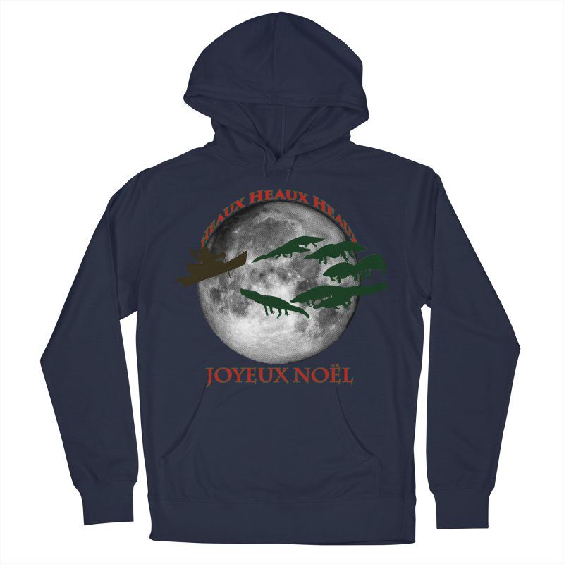 Cajun Christmas Men's French Terry Pullover Hoody by Peregrinus Creative