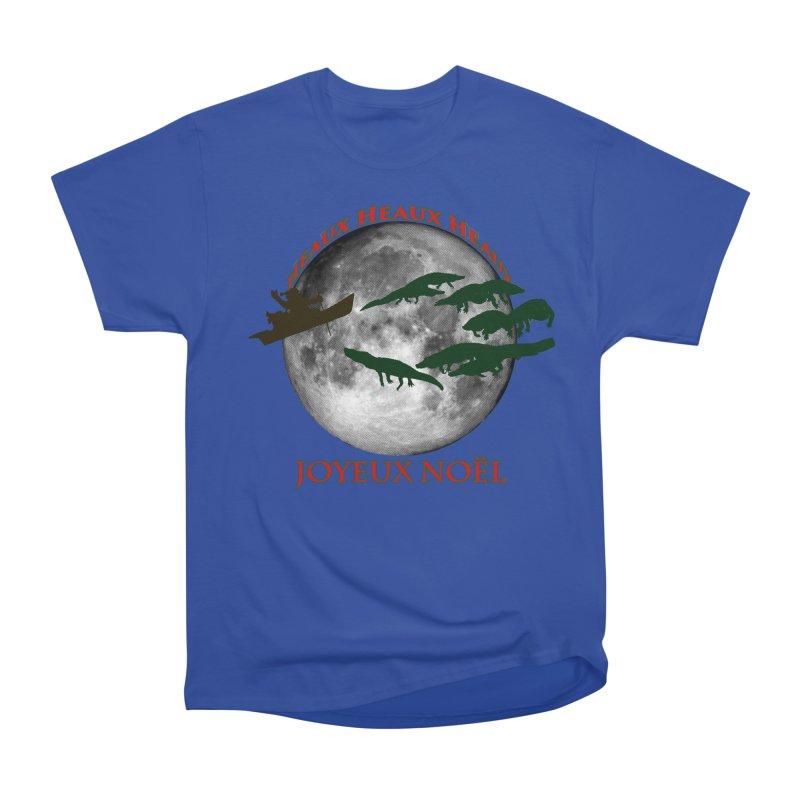 Cajun Christmas Men's Heavyweight T-Shirt by Peregrinus Creative