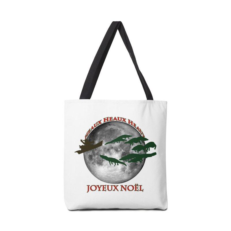 Cajun Christmas Accessories Tote Bag Bag by Peregrinus Creative