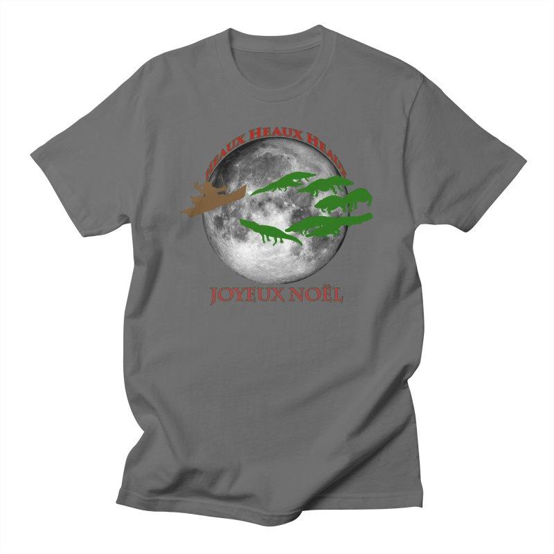 Cajun Christmas Men's T-Shirt by Peregrinus Creative