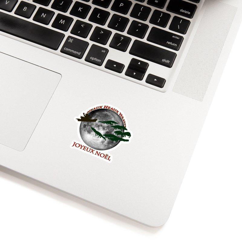Cajun Christmas Accessories Sticker by Peregrinus Creative
