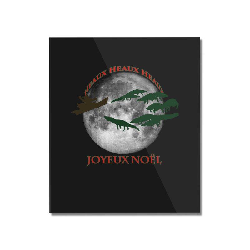 Cajun Christmas Home Mounted Acrylic Print by Peregrinus Creative