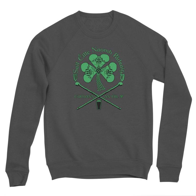 Saint Patrick's Shillelagh Drinking Society Women's Sponge Fleece Sweatshirt by Peregrinus Creative