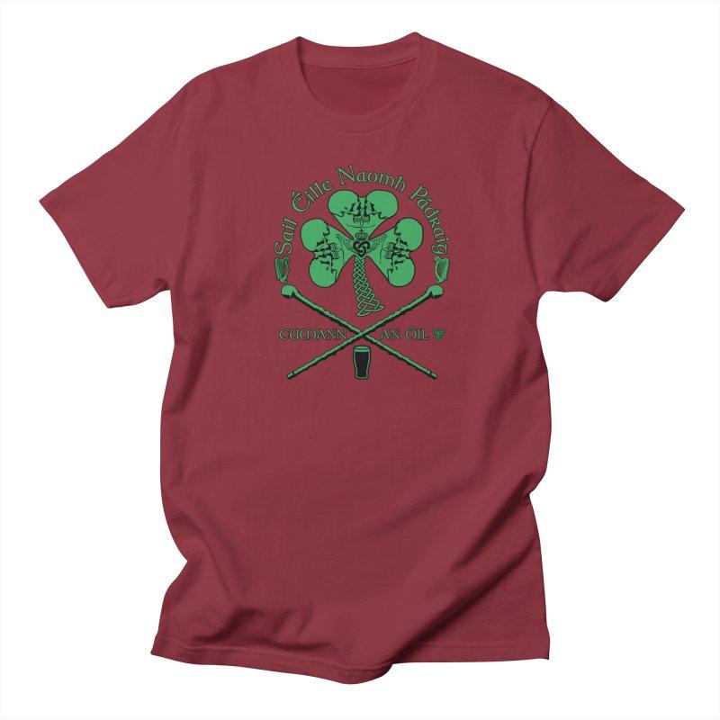 Saint Patrick's Shillelagh Drinking Society Women's Regular Unisex T-Shirt by Peregrinus Creative