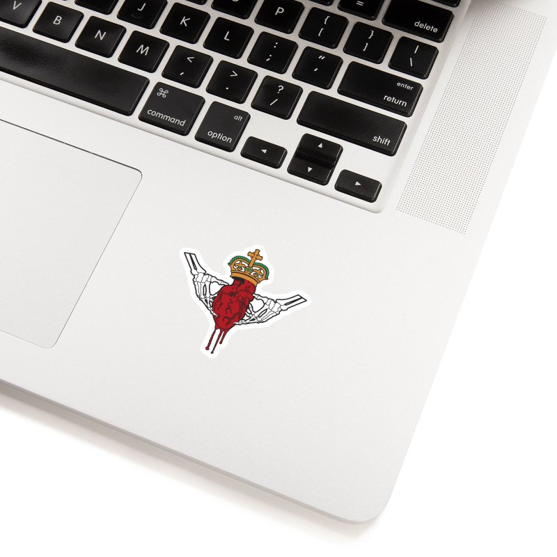 Gothic Horror inspired Claddagh Accessories Sticker by Peregrinus Creative