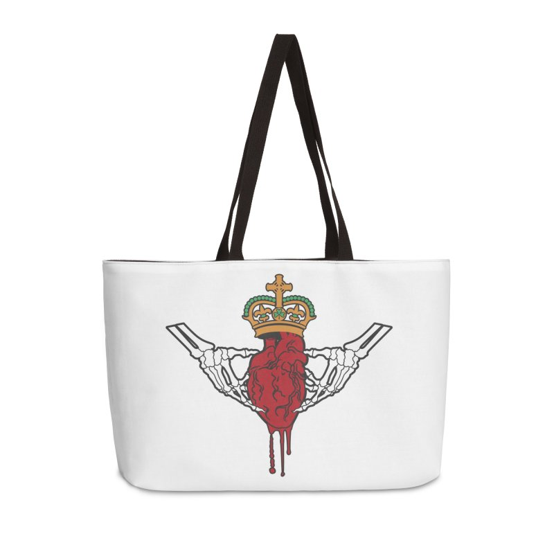 Gothic Horror inspired Claddagh Accessories Weekender Bag Bag by Peregrinus Creative