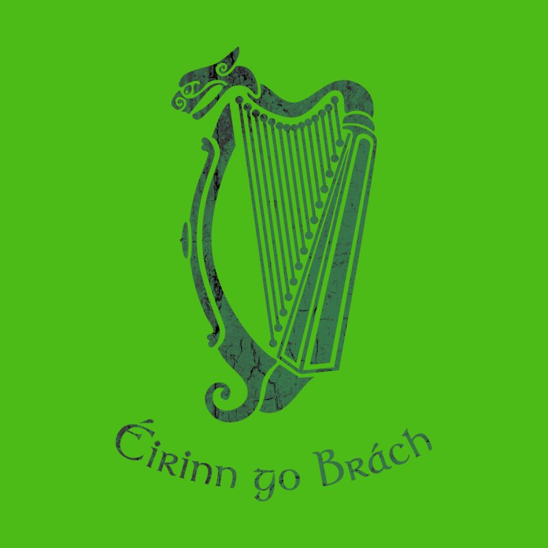 Éirinn go Brách (Ireland to the End of Time) Men's T-Shirt by Peregrinus Creative
