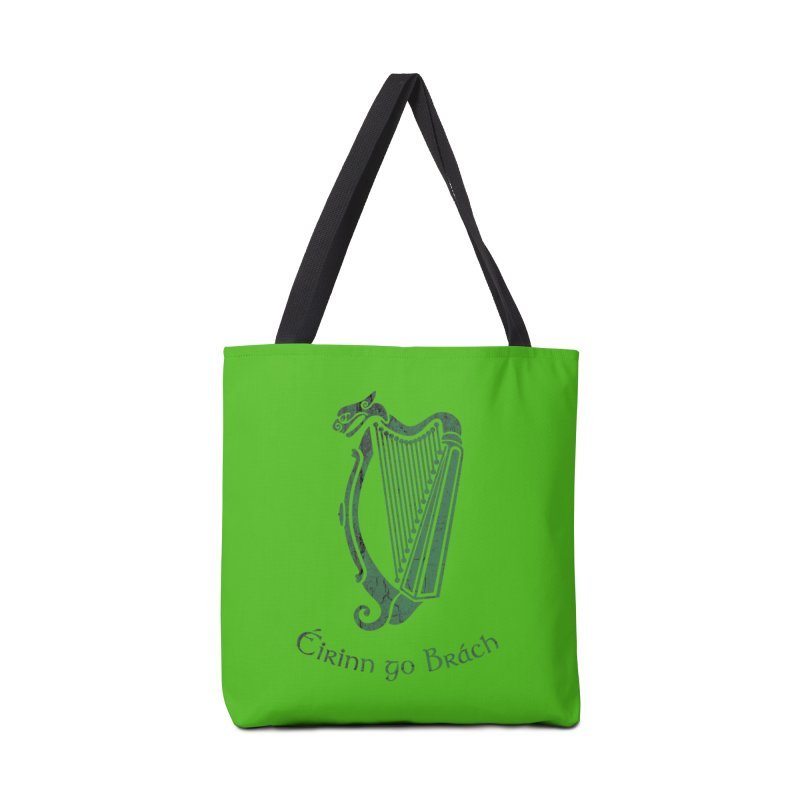 Éirinn go Brách (Ireland to the End of Time) Accessories Tote Bag Bag by Peregrinus Creative