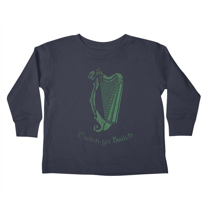 Éirinn go Brách (Ireland to the End of Time) Kids Toddler Longsleeve T-Shirt by Peregrinus Creative