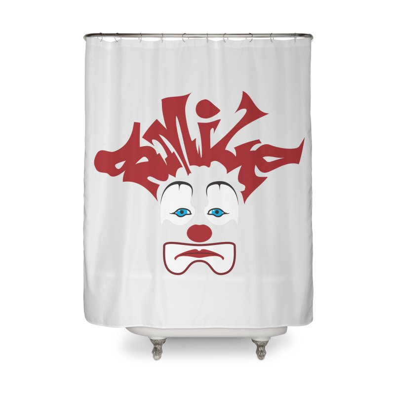 sMiLe Home Shower Curtain by Peregrinus Creative